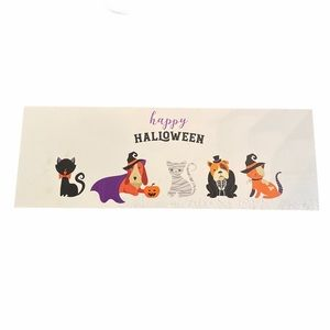 Happy Halloween Cats and Dogs Party Wall Decor
